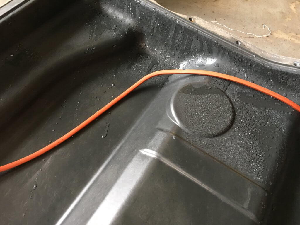 Fiat 500e water in HV battery pack