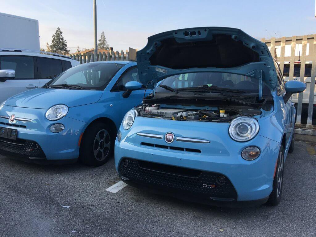 Fiat 500e Service in Mirano (Venice)