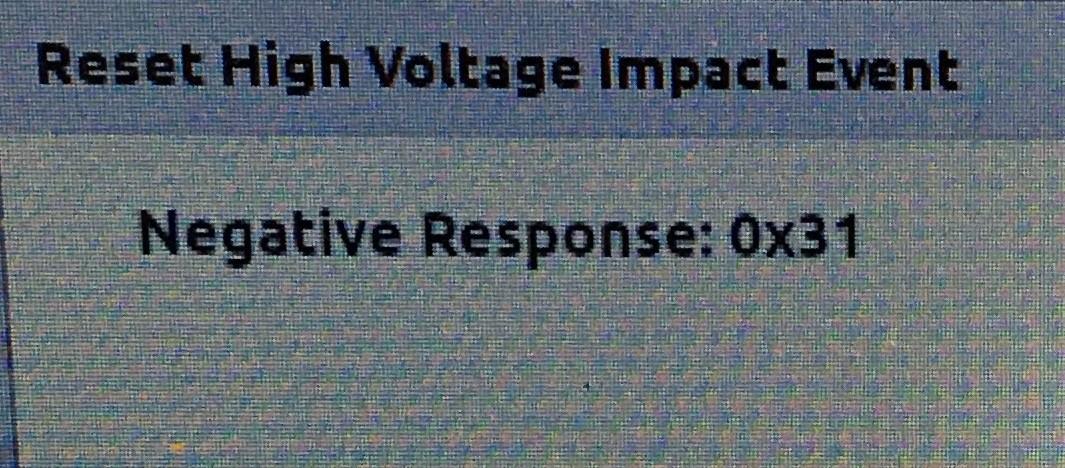 Negative Response