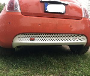 Rear Fog Led in Fiat 500e