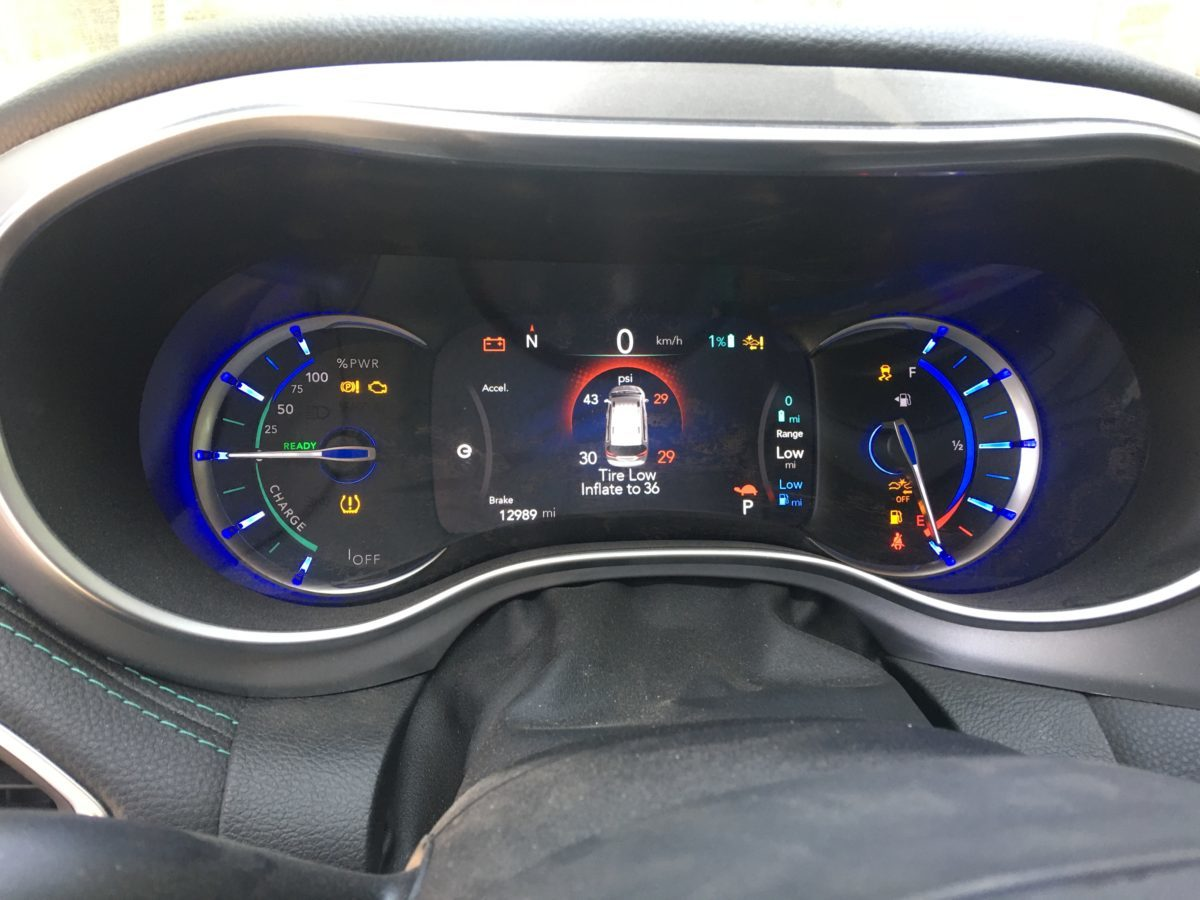 2019 Chrysler Pacifica Hybrid Repair