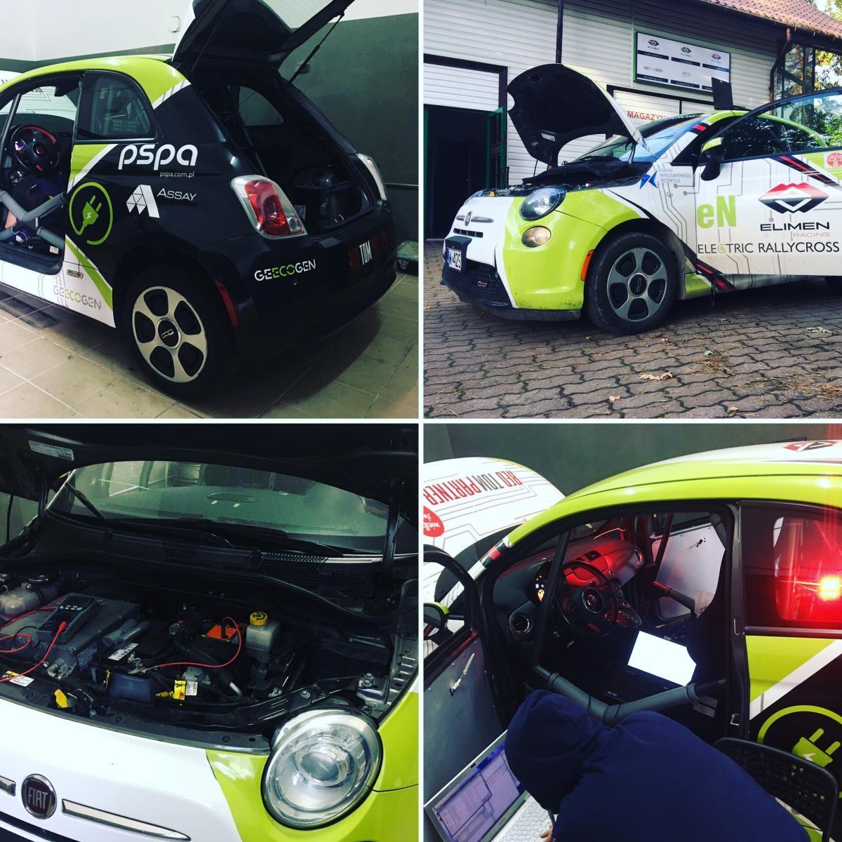 Fiat 500e RallyCross