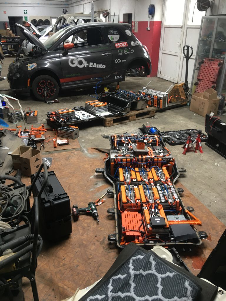 HV Battery rebuild