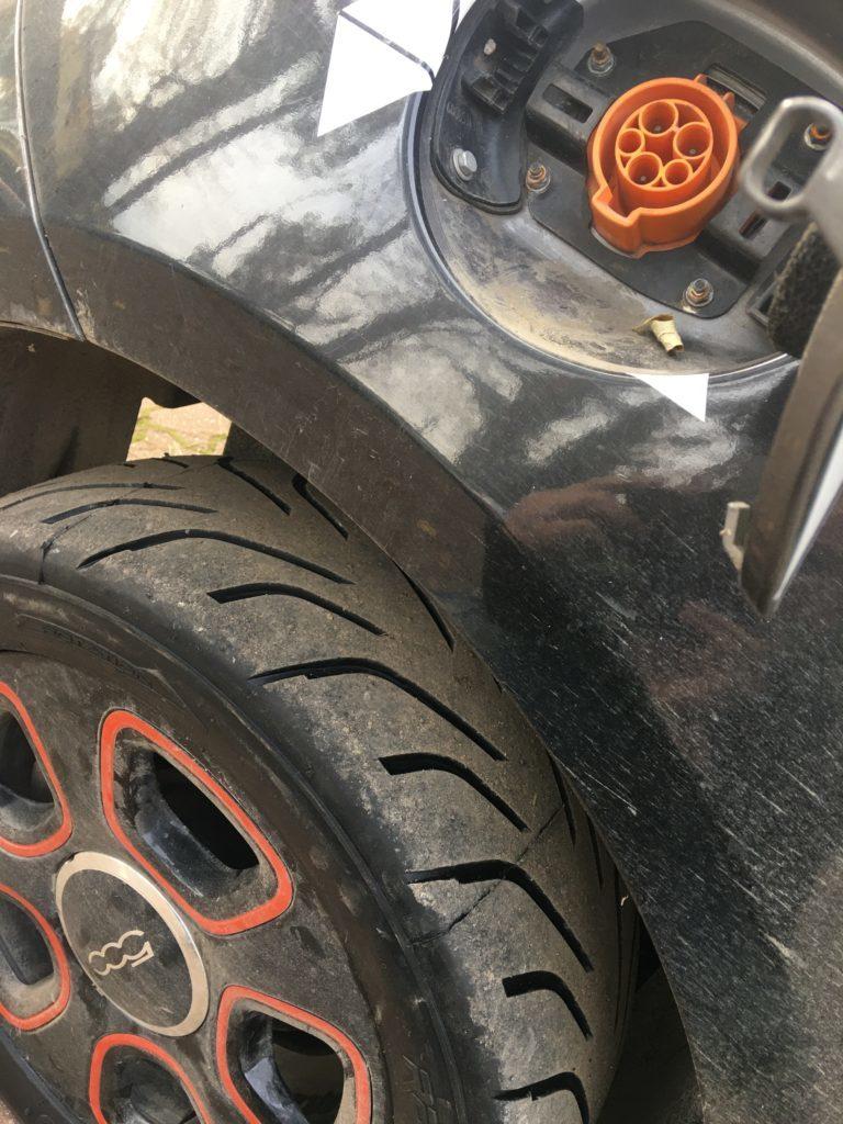 Fiat 500e RallyCross eN tires