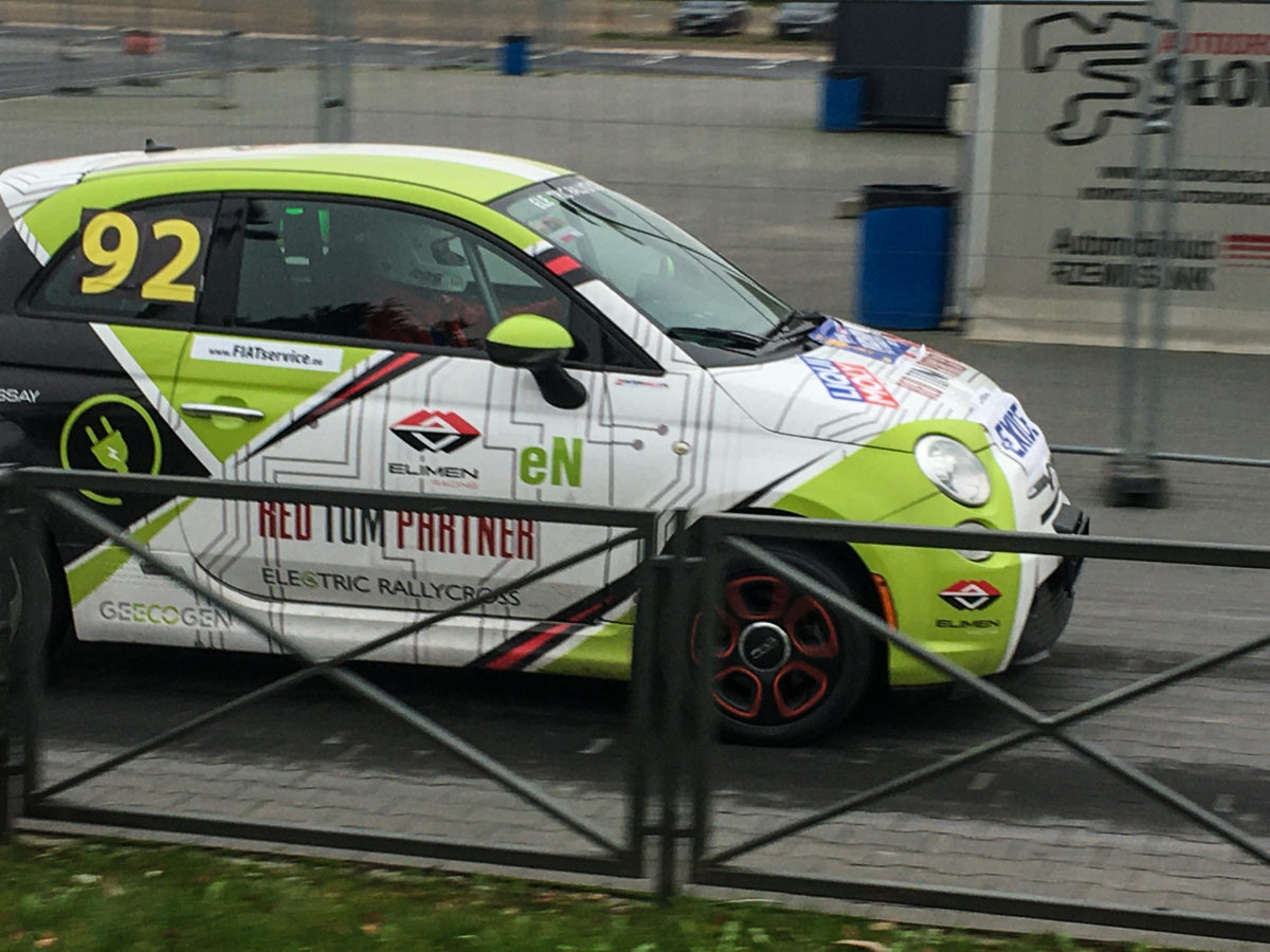 Fiat 500e Rally Cross Słomczyn